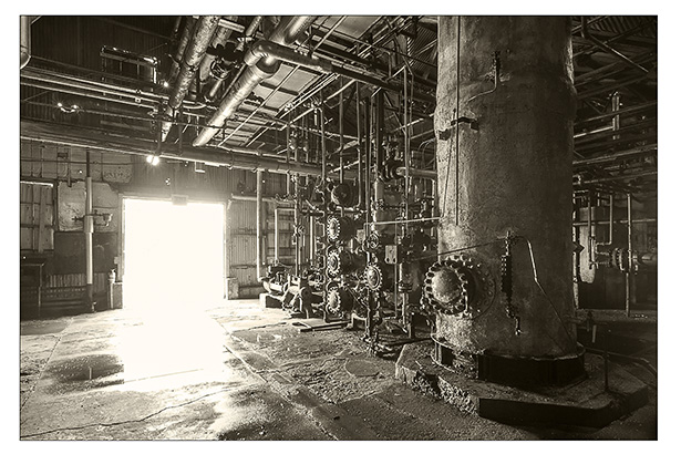 Documenting Alberta: Turner Valley Gas Plant (photo by George Webber)