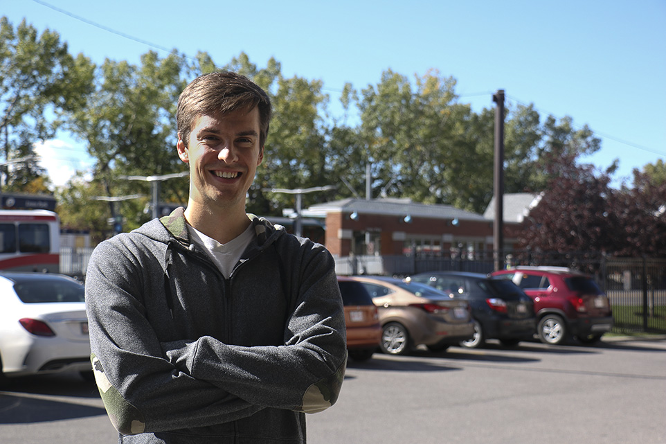Game not Over: Shane Berezowski, ex-oil man and developer of CMYW, poses for a picture. (Photo by Alex Jackson/The Press)