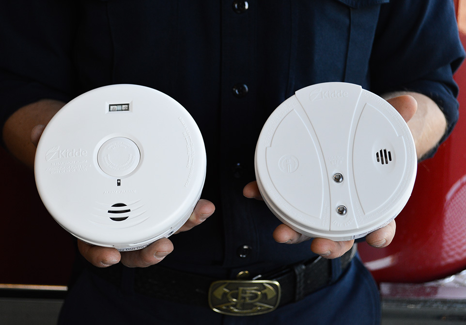 Great Escape: It's important to have smoke alarms, although they won't prevent a fire, they will give you the few extra moments you need to escape safely. (Photo by Jordan Johnston/The Press)