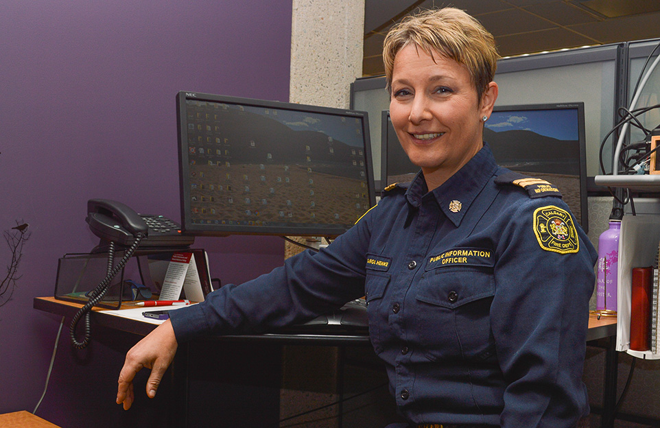 Smoke alarms save lives the press for Carola henke