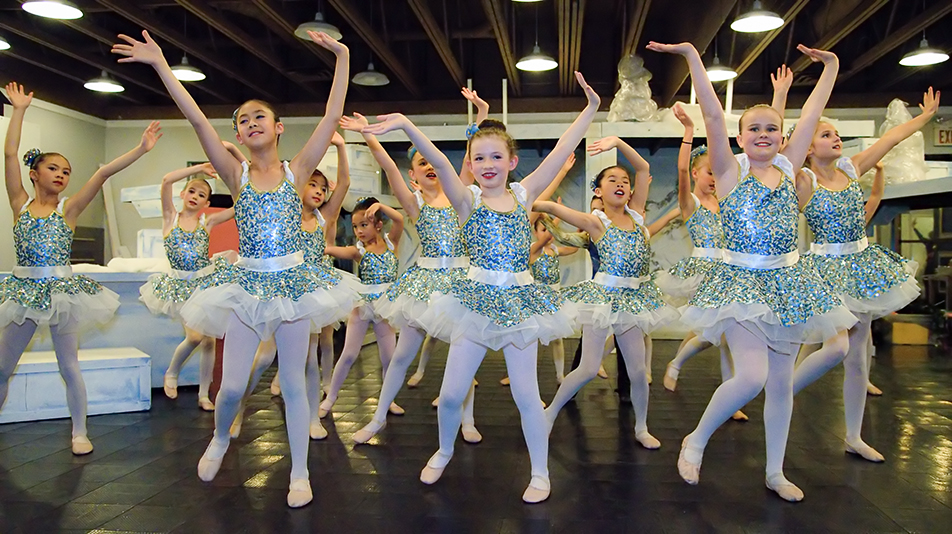 Frozen: Mystical trolls dance during a dress rehearsal at Absolute Dance Inc. in Calgary on Friday, Nov. 27, 2015. The dance troupe's production of Frozen was performed at the Wright Theatre at Mount Royal University on Sunday, Nov. 29, 2015. (Photo by Brooke Hovey/The Press)